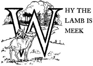 05 Why the Lamb Is Meek